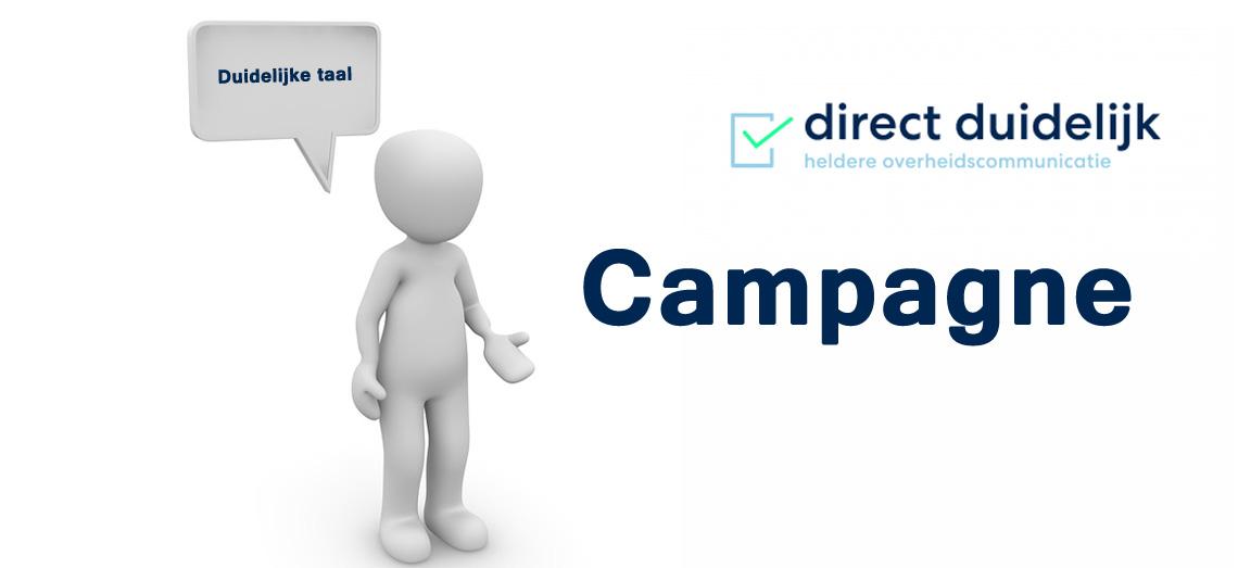 Campagne voor duidelijke taal van start